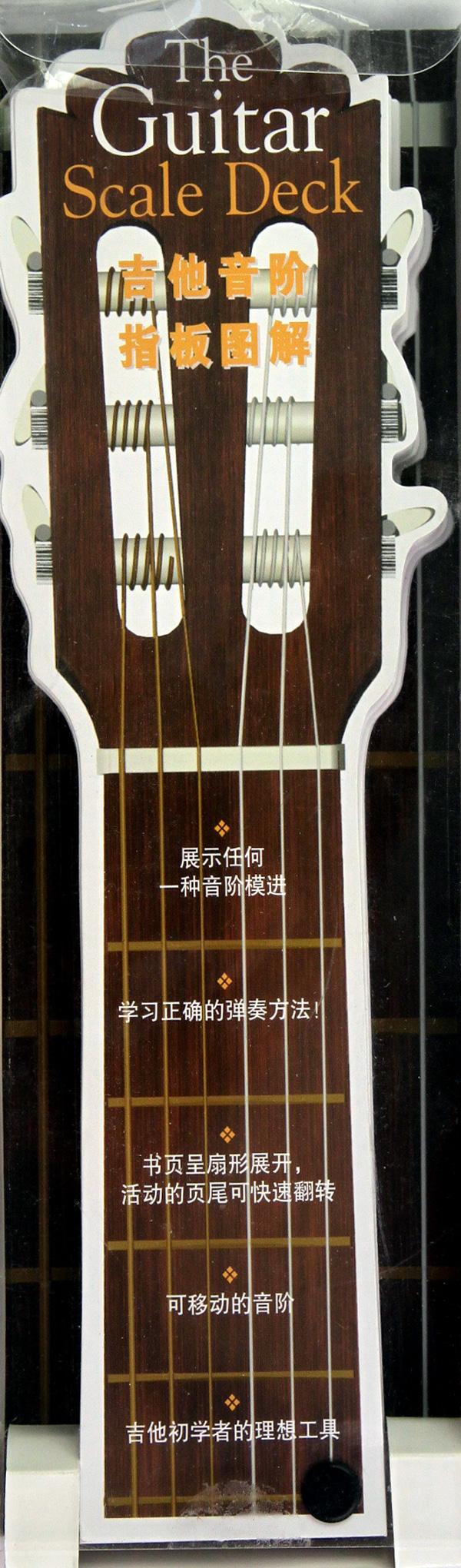 吉他音阶指板图解-博库网