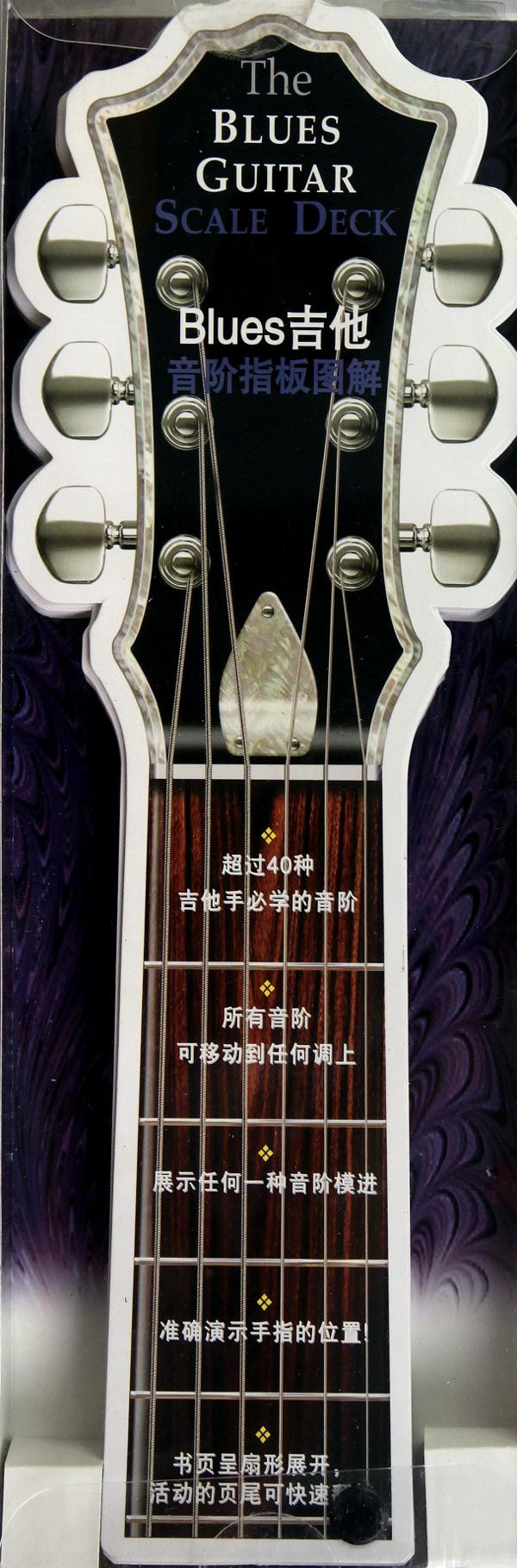 blues吉他音阶指板图解