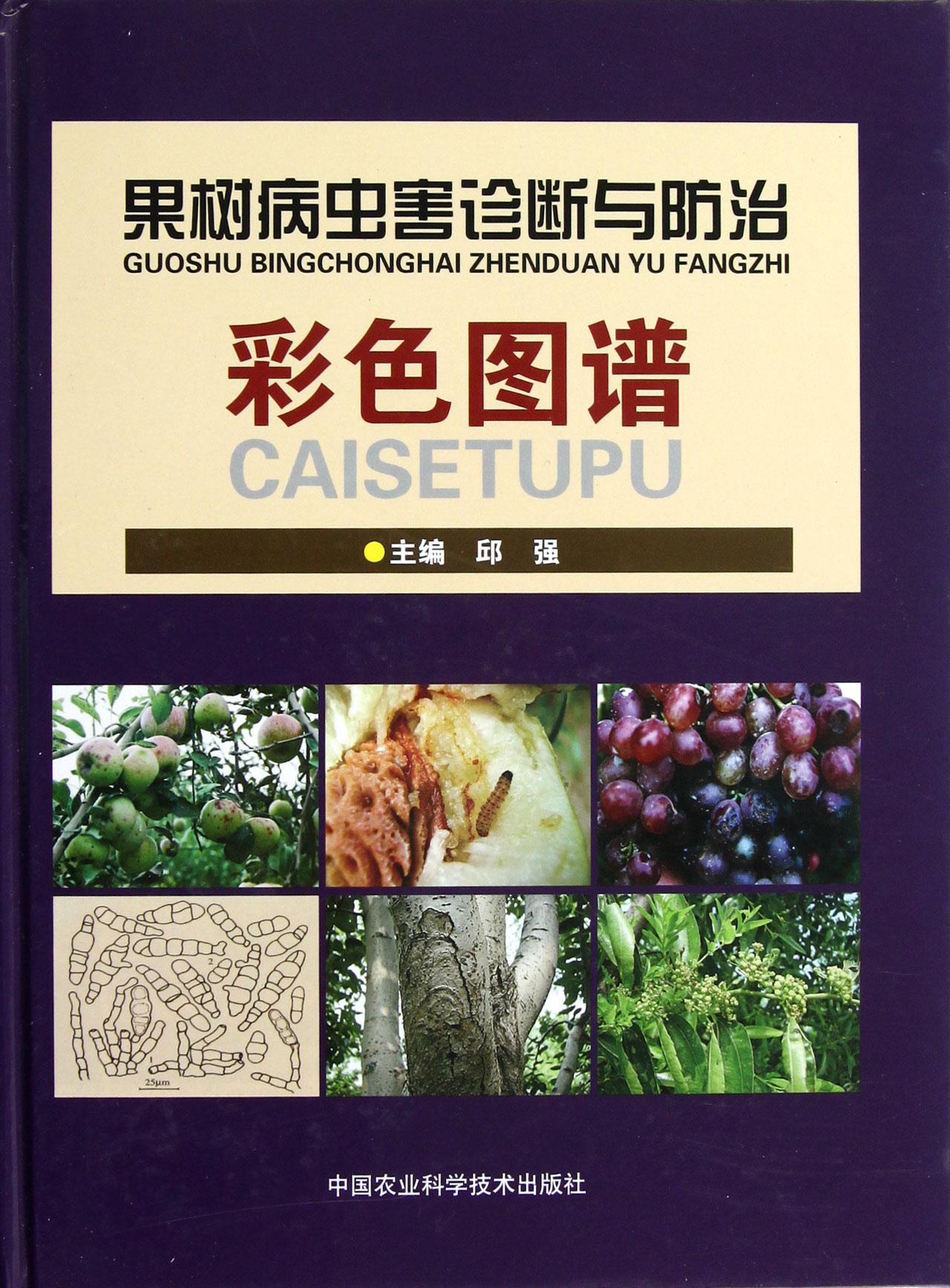 果树病虫害诊断与防治彩色图谱(精)