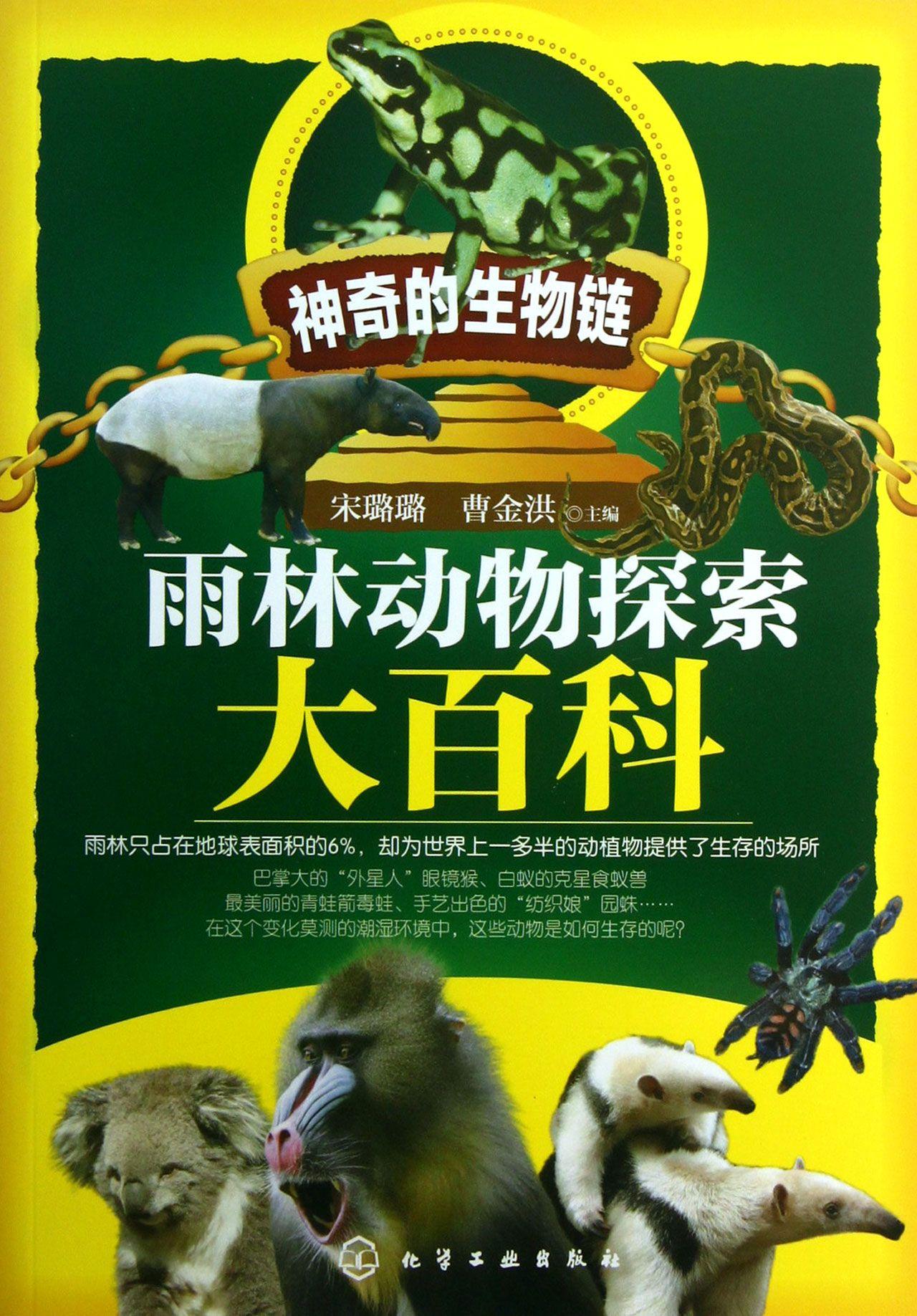 雨林动物探索大百科