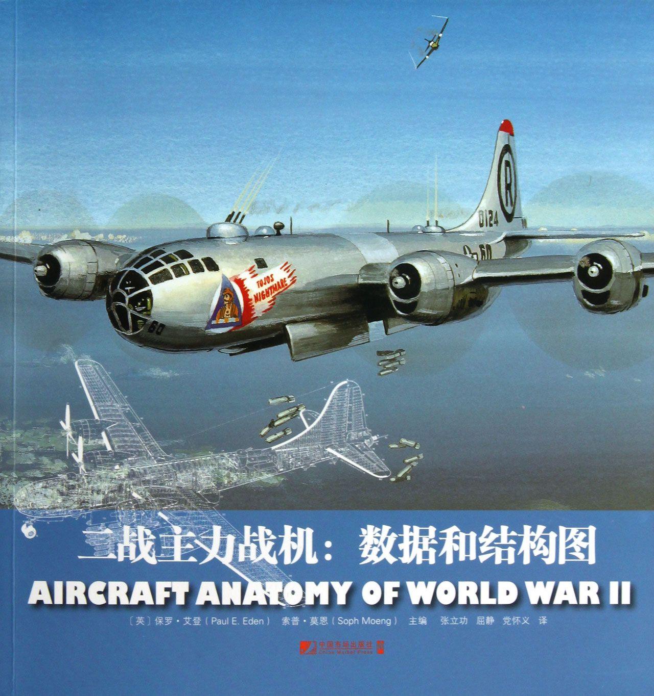二战主力战机--数据和结构图