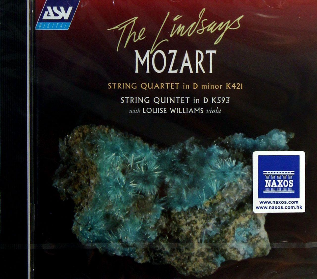 cd莫扎特弦乐四重奏弦乐五重奏