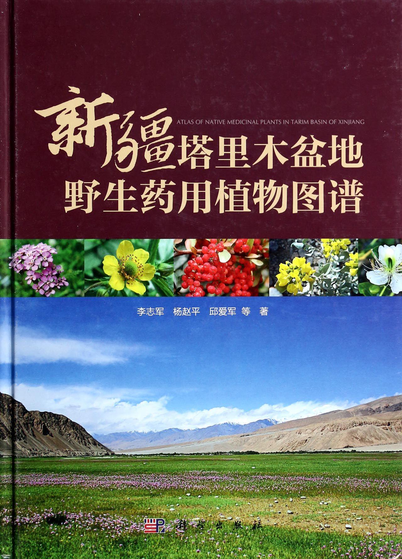 新疆塔里木盆地野生药用植物图谱(精)