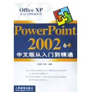 PowerPoint2002中文版从入门到精通/Office XP从入门到精通丛书