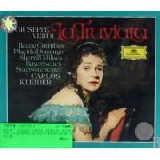 CD VERDI LA TRAVIATA KLEIBER<双碟装>附书