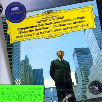 CD德沃夏克第8&9新大陆交响曲