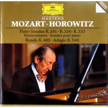 CD莫扎特钢琴奏鸣曲选集(霍洛维兹演奏)