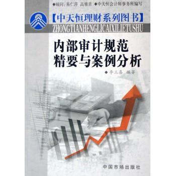 内部审计规范精要与案例分析/中天恒理财系列图书
