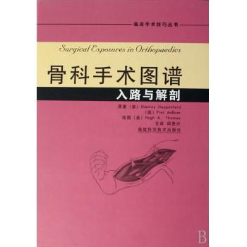 骨科手术图谱(入路与解剖)(精)/临床手术技巧丛书