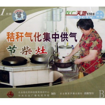 VCD秸秆气化集中供气节柴灶