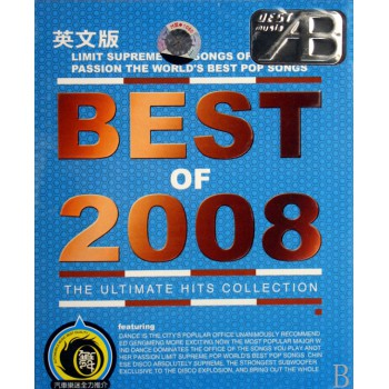 CD BEST OF2008<英文版>(2碟装)