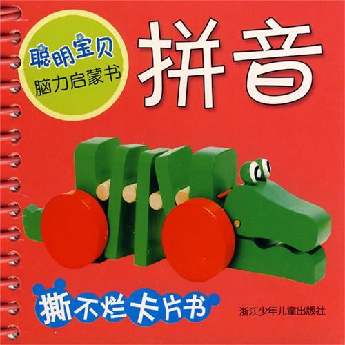 拼音/聪明宝贝脑力启蒙书