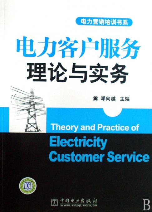 电力客户服务理论与实务/电力营销培训书系