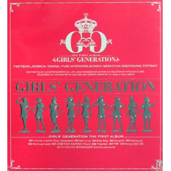 CD GIRLS GENERATION THE FIRST ALBUN
