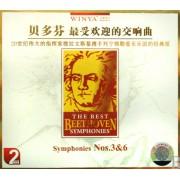 CD贝多芬最受欢迎的交响曲(2碟装)
