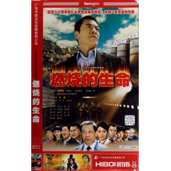 DVD燃烧的生命<纸袋装>(6碟装)