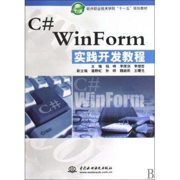C#WinForm实践开发教程(软件职业技术学院十一五规划教材)