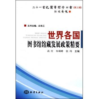 世界各国图书馆馆藏发展政策精要/二十一世纪图书馆学丛书
