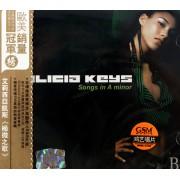 CD艾莉西亚凯斯极微之歌(欧美销量冠军榜)