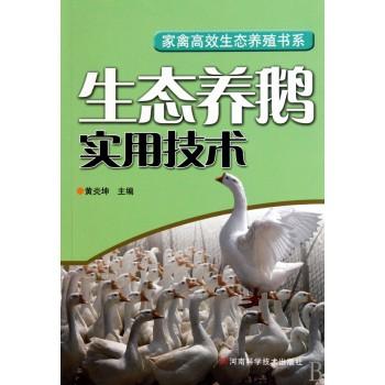 生态养鹅实用技术/家禽高效生态养殖书系