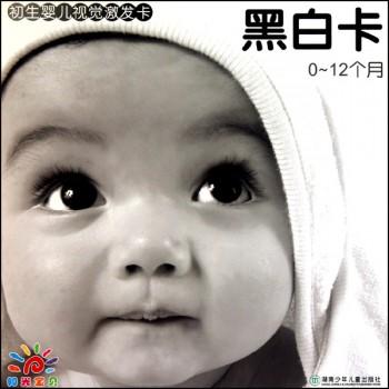 黑白卡(0-12个月)/初生婴儿视觉激发卡