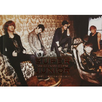 CD SUPER JUNIOR THE 4TH ALBUM美人啊(黄色长版)