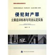 侵犯财产罪立案追诉标准与司法认定实务/刑法罪名系列/中国刑事法制建设丛书