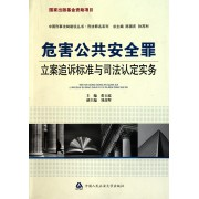 危害公共安全罪立案追诉标准与司法认定实务/刑法罪名系列/中国刑事法制建设丛书