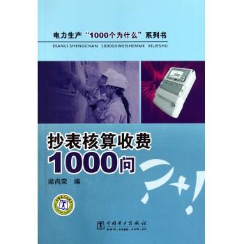抄表核算收费1000问/电力生产1000个为什么系列书
