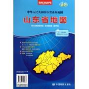 山东省地图(1:720000新版)/中华人民共和国分省系列地图
