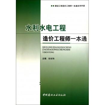 水利水电工程造价工程师一本通(建设工程造价工程师一本通系列手册)