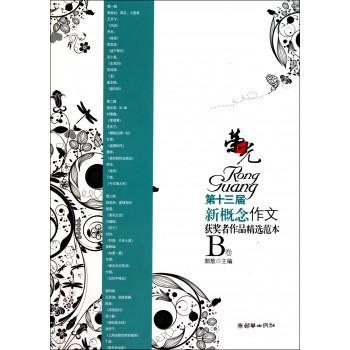 荣光(第十三届新概念作文获奖者作品精选范本B卷)