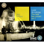 CD LOUIS ARMSTRONG THE BEST LIVE CONCERT(2)
