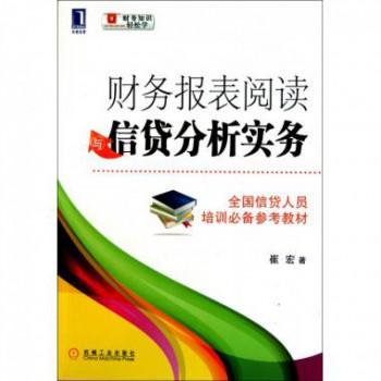 财务报表阅读与信贷分析实务/财务知识轻松学