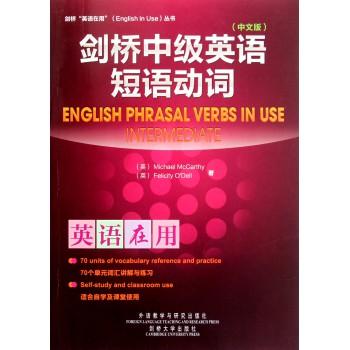 剑桥中级英语短语动词(中文版)/剑桥英语在用丛书
