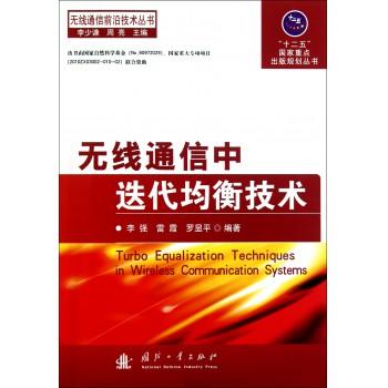 无线通信中迭代均衡技术/无线通信前沿技术丛书
