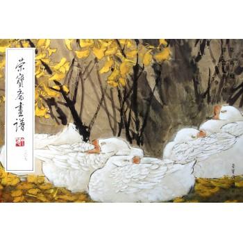 荣宝斋画谱(207花鸟部分)