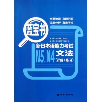 新日本语能力考试N5N4文法(详解+练习蓝宝书)