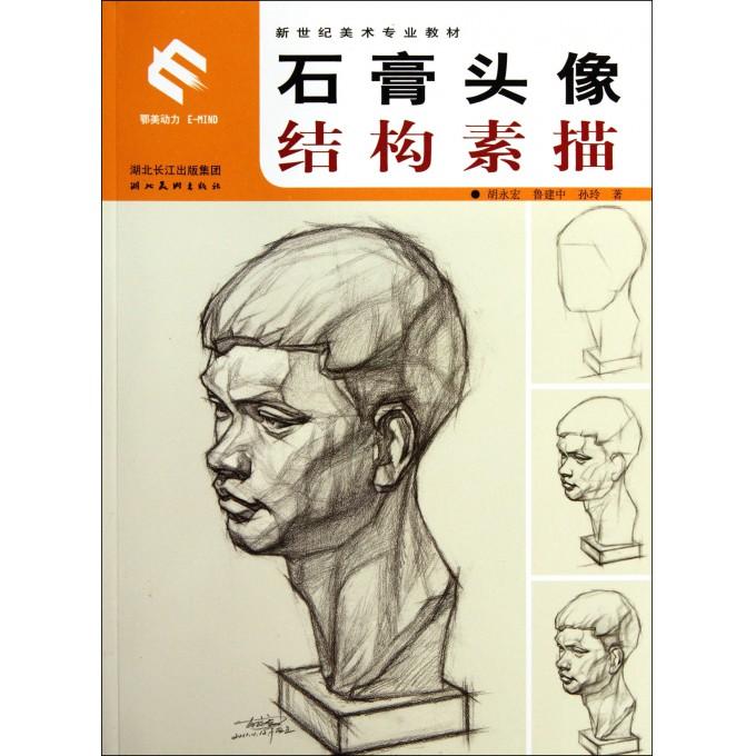 石膏头像结构素描(新世纪美术专业教材)