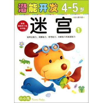 迷宫(4-5岁幼儿园大班1)/小小孩潜能开发丛书