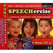 CD说话练习跟着音乐练习你的发音(2碟装)