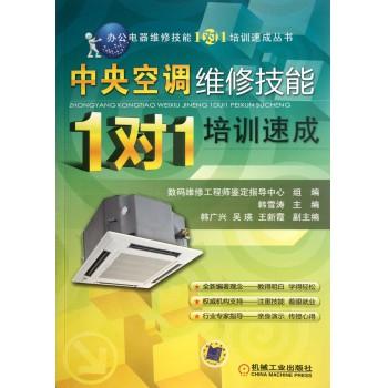 中央空调维修技能1对1培训速成/办公电器维修技能1对1培训速成丛书