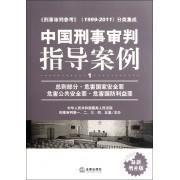 中国刑事审判指导案例(1总则部分危害国家安全罪危害公共安全罪危害国防利益罪最新增补版)