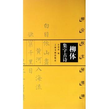 柳体集字古诗(柳公权玄秘塔碑)/中国古诗集字字帖系列