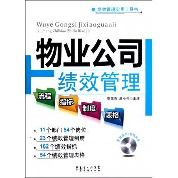物业公司绩效管理流程指标制度表格(附光盘)/绩效管理实用工具书