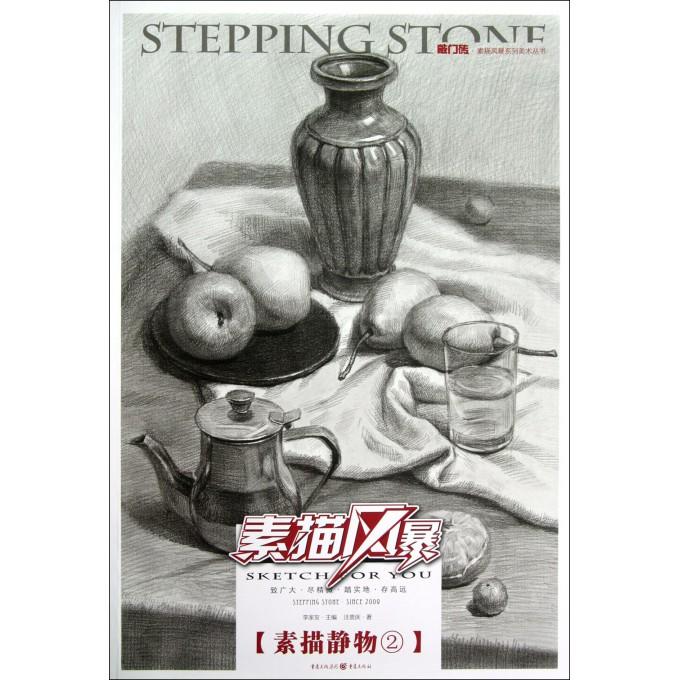素描风暴(素描静物2)/敲门砖速写风暴系列美术丛书