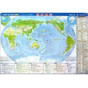 世界地图世界地形(1:8670万)