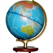 Dipper Globe木底座合金支架中英文对照政区版灯光地球仪(32CM)(型号G3201)