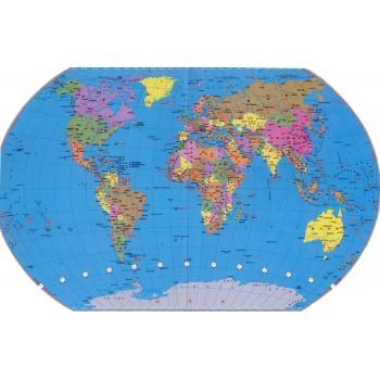 世界地图(全开精装贴图)