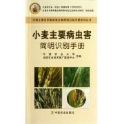 小麦主要病虫害简明识别手册/中国主要农作物有害生物简明识别手册系列丛书